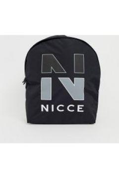 Nicce - Schwarzer Rucksack mit großem Logo - Schwarz(83095783)