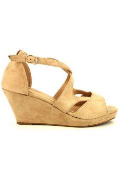 Espadrilles Cendriyon Compensées Beige Chaussures Femme(115425734)
