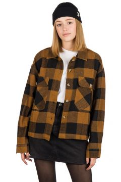 Brixton Astoria Flannel Shirt bruin(96637124)