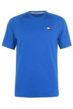 Tommy Sport Tommy Mesh Back T Shirt Mens - Princess Blue(110469396)