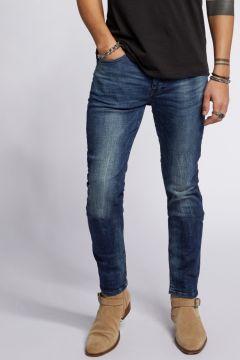 tigha Herren Slim Fit Jeans Morty 9021 used blau (mid blue)(113747581)