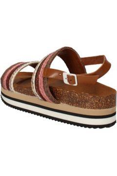 Sandales 5 Pro Ject sandales marron textile rose AC593(88469765)