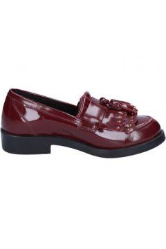 Chaussures Emanuélle Vee mocassins bordeaux cuir BX382(115442547)