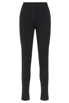 PIECES High-waist Jersey Legging Dames Zwart(107864597)