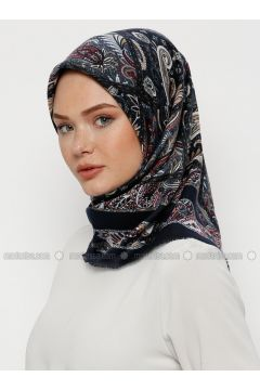 Multi - Printed - Wool Blend - Scarf - Karaca Eşarp(110330115)