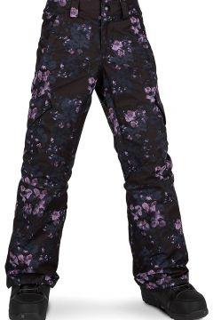 Volcom Silver Pine Insulator Pants black floral print(97846737)