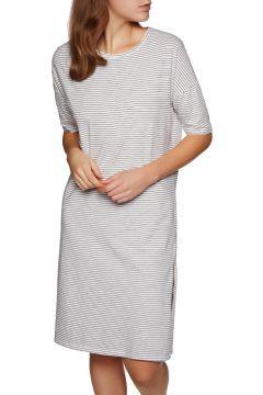 SWELL Grant Essential Kleid - Navy White Stripe(100259216)