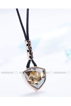 Black - Necklace - Monemel(110312866)
