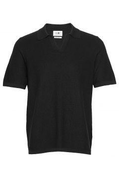 Ryan Polo 6390 Polos Short-sleeved Schwarz NN07(114154598)