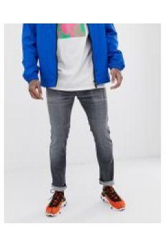 HUGO - 734 - Enge Stretch-Jeans in Grau - Grau(92460478)