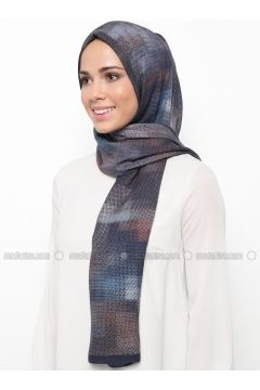 Multi - Printed - Shawl - Karaca Eşarp(110342665)