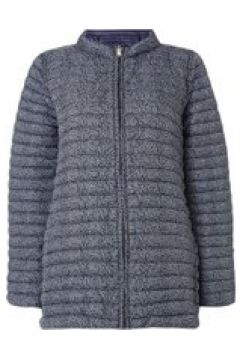 Emme Karman long quilted jacket - Navy(110455440)
