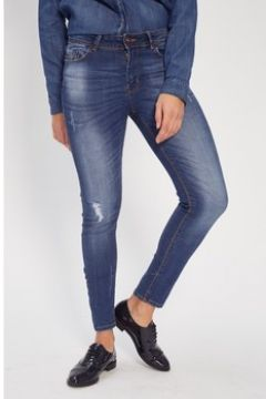 Jeans Fifty Jeans 50-MID RISE SKINNY_DARK BLUE WORN IN(101696506)