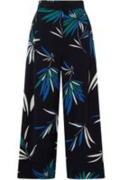 Emme Alinda long wide leg printed trousers - Navy(110458109)