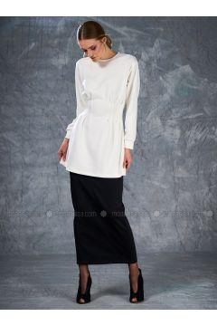 Black - Unlined - Skirt - Eda Atalay(110331488)