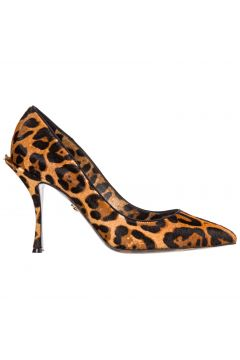 Women's leather pumps court shoes high heel(116788914)