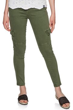 Superdry Daisey Skinny Damen Cargo Pants - Thyme Khaki(100263978)