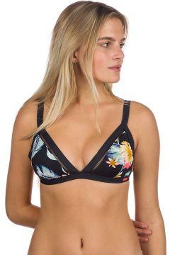 Roxy Dreaming Day Full Fixed Tri Bikini Top anthracite tropical love(114598670)