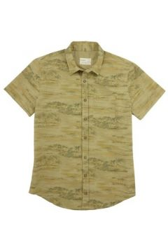 Chemise Pull And Bear Chemisette hawaïenne Pull Bear Beige(101543538)