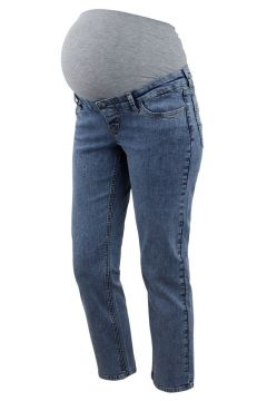 MAMA.LICIOUS Relaxed Fit Umstandsjeans Damen Blau(109178138)