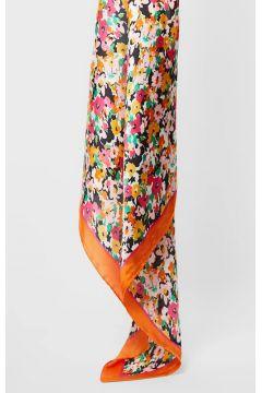 Haarband mit Blumenmuster Orange(113908307)