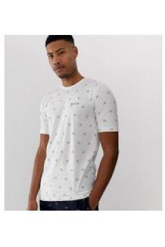 Nicce - Weißes T-Shirt mit durchgehendem Logo - Weiß(89512266)