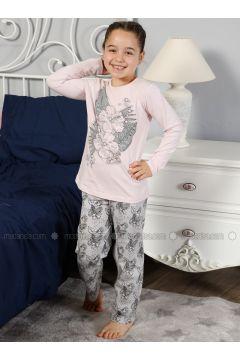 Powder - Crew neck - Multi - Kids Pijamas - Elitol Pijama(110313273)