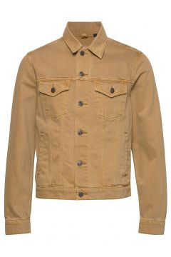 Icon Denim Jacket Jeansjacke Denimjacke Beige GAP(111057314)