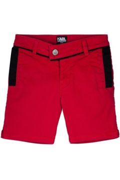 Short enfant Karl Lagerfeld Bermuda rouge(98528949)