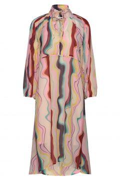 Arizonakb Dress Kleid Knielang Bunt/gemustert KAREN BY SIMONSEN(114164599)