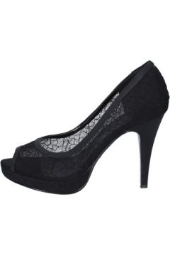Chaussures escarpins Top Women escarpins noir textile AM859(98485705)
