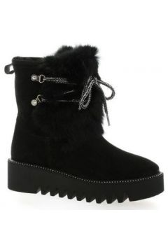 Boots Alpe Boots cuir velours(115607367)