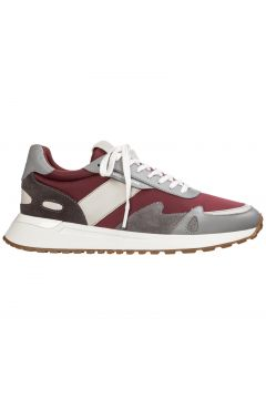 Men's shoes leather trainers sneakers miles(116887592)