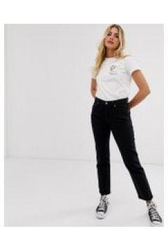 Levi\'s - 501 - Kurze Jeans in Schwarz - Schwarz(94832199)