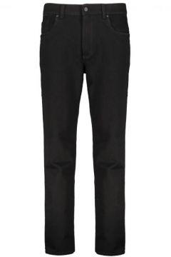 Pioneer: Sehr elastische Jeans mit kontrastfarbenen Ziernähten, 62, Schwarz(109278851)