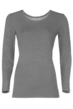 Loungewear Damen Langarmshirt Starlet grau melange(111521122)