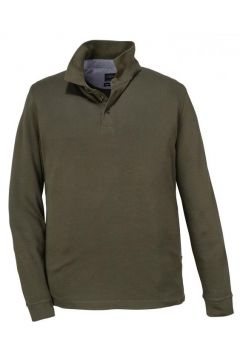 Kitaro: Poloshirt aus Baumwolle, langarm, 3XL, Grün(98057266)