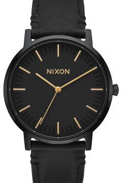 Nixon The Porter Leather zwart(85168930)