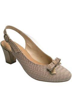 Chaussures escarpins Roldán talon Peep combiné avec nubuck en(115627317)