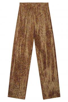 Hose aus Lurex Chamana - Damenkollektion -(114139335)