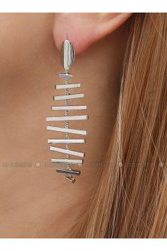 Gray - Earring - Takıştır Bijuteri(110326947)