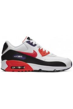 Chaussures enfant Nike AIR MAX 90 LEATHER (GS) / BLANC(101690383)