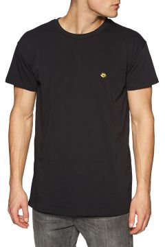 Magenta Brodé Kurzarm-T-Shirt - Black(100271205)