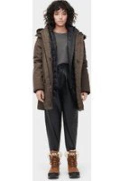 UGG Adirondack Parka pour Femmes en Dark Olive, taille Moyenne | Polyester(112238346)