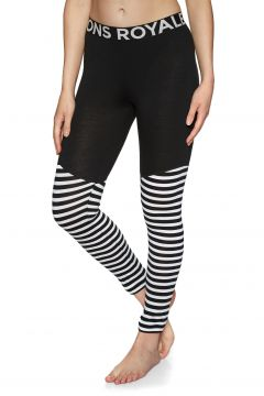 Leggings Seconde Peau Femme Mons Royale Christy - Black Stripe(111332239)