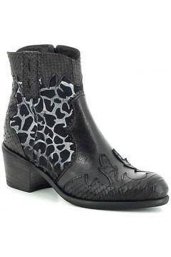 Bottines Semerdjian Boots à motifs texturés style santiag(115482540)