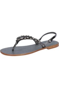 Sandales Eddy Daniele sandales gris foncé cuir swarovski AX922(115442439)