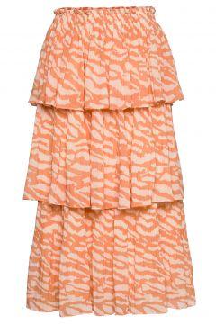 Gloss Malica Skirt Bz Knielanges Kleid BRUUNS BAZAAR(109200381)