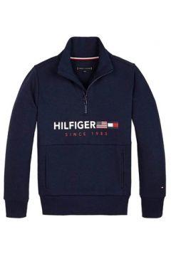 Sweat-shirt enfant Tommy Hilfiger Kids FLAGS INTERLOCK 1/2 ZIP(115665761)