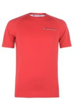 Tommy Sport Driver Logo T Shirt - Red(110469402)